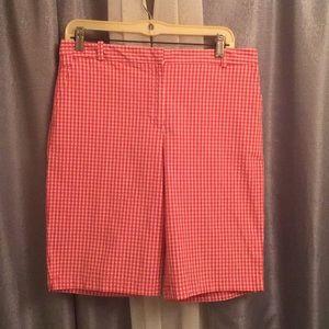 (FL) Talbots Bermuda style shorts size 8
